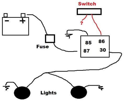 relay for fog lights wiring diagram efcaviation
