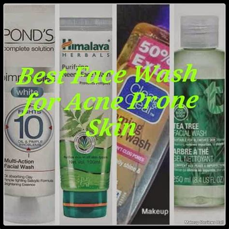 best acne cleansers best washes for acne prone skin makeup reviews