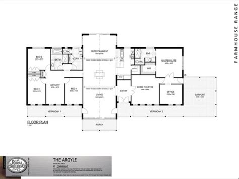 open farmhouse floor plans 5 bedroom one story open floor plan 5 bedroom house with