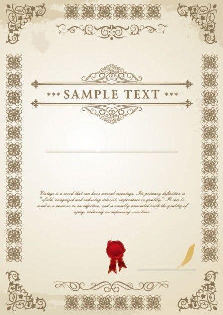 Grafik Design Vorlagen vorlage heiratsurkunde grafik vorlagen