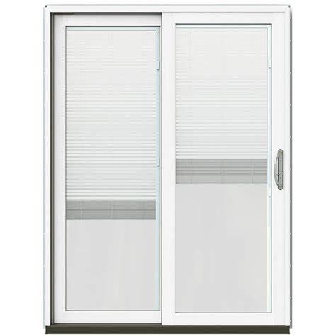 jeld wen patio doors reviews jeld wen 71 1 4 in x 79 1 2 in w 2500 chestnut bronze
