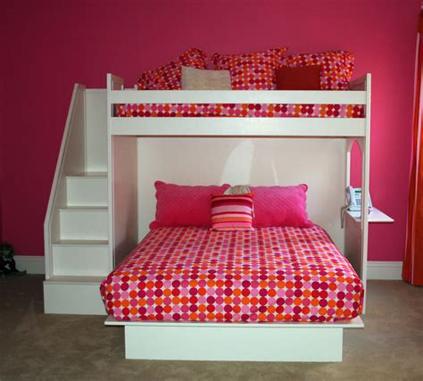 bunk bed queen fantasy twin over queen bunk bed by country cottage