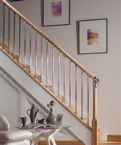 Oak Staircase Axxys Evolution Oak Staircase Kit In Chrome Finish Savoy