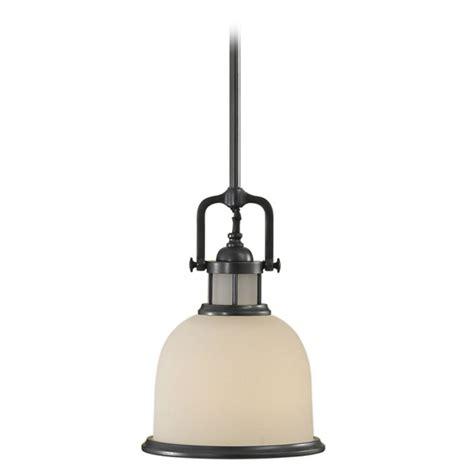 Mini Pendant Light With White Glass P1144dbz White Glass Pendant Light