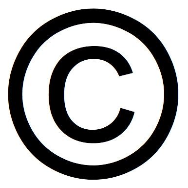 copyright symbols copyright  rights reserved symbols