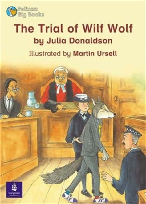 the trial of my books the trial of wilf wolf by donaldson