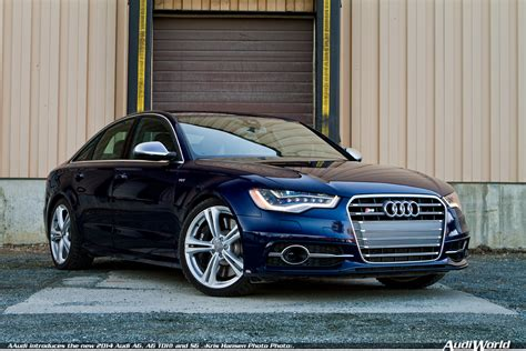 Audi News 2014 by Audi Introduces The New 2014 Audi A6 A6 Tdi And S6