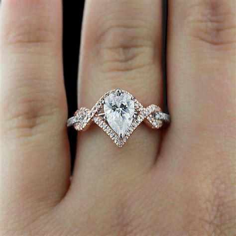 Design My Wedding Ring by 25 Best Ideas About Pear Engagement Rings On