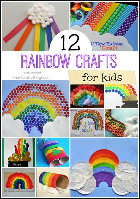 activities and crafts for 12 rainbow crafts for i crafty things