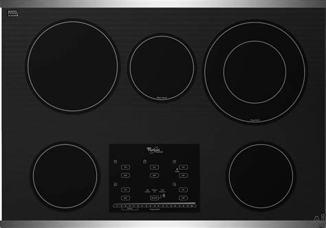 Ceran Cooktop Whirlpool Gold G9ce3065x 30 Inch Smoothtop Electric