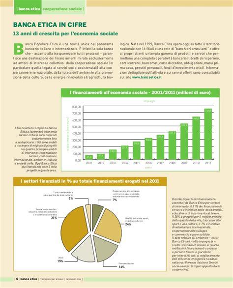 banca etica banca etica per la cooperazione sociale