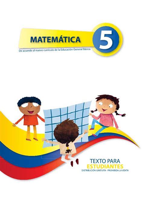 santillana quinto ao libro matematica 5 1