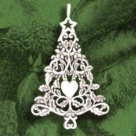 2014 hand hammer victorian christmas tree ornament
