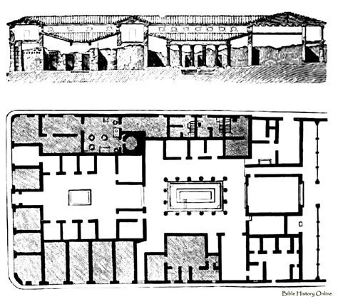 Pompeii House Plan House Floor Plan Pictures
