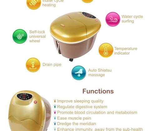 Detox Spa Pedicure by 2017 New Water Basin Pedicure Ion Cleanse
