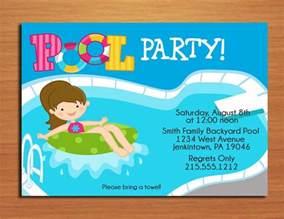 free printable birthday pool invitations drevio invitations design