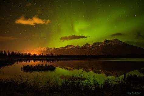 northern lights alaska 2017 pachamama northern lights over robe lake in valdez