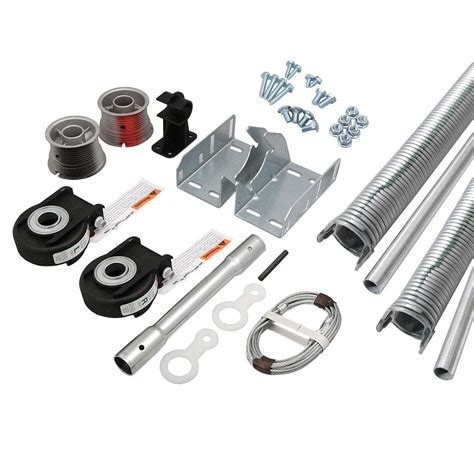 clopay garage door parts list clopay ez set torsion conversion kit for 16 ft x 7 ft