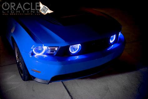 halo lights for mustang oracle halo lights complete assemblies oem style for