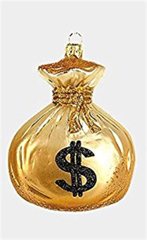 amazon com bag of money polish mouth blown glass