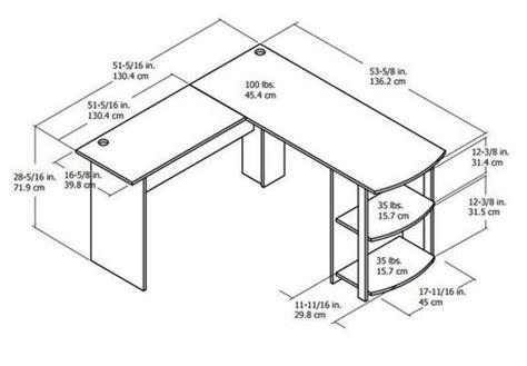 how to measure l shaped desk dorel l shaped desk walmart ca