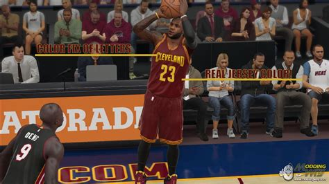 nba 2k15 new year jersey cavaliers away jersey real colors v2 0 nba 2k15