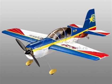 2 4ghz 4 Channel Plane R C Blue r c airplanes 4 channels new 2 4ghz yak 54 3d