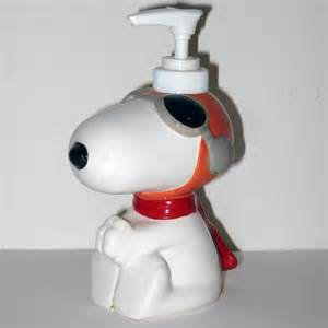 Snoopy Bathroom Accessories Snoopy Flying Ace Soap Collectpeanuts