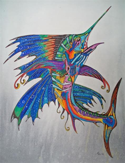 sailfish tattoo designs 7 best tattoos images on ideas fishing