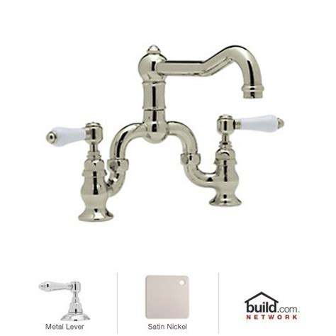rohl country kitchen bridge faucet where to buy rohl a1420lmstn 2 country kitchen bridge
