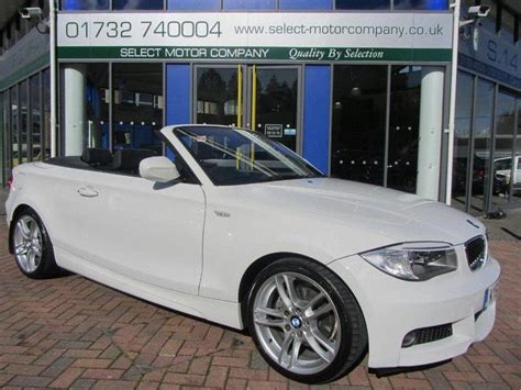 used white bmw 1 series for sale used 2011 bmw 1 series convertible white edition 125i m