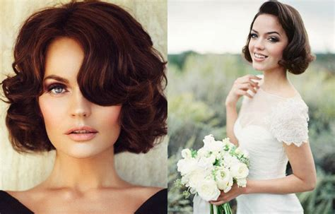 Medium Bob Wedding Hairstyles by Trending Bob Wedding Hairstyles For 2017 Hairstyles