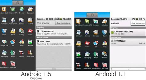 android version 5 1 1 de android 1 0 a android 6 0 m tecnogeek