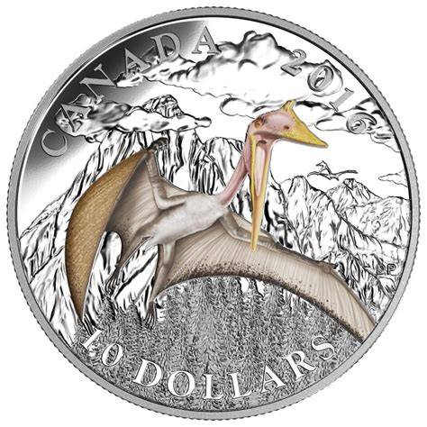 10 Dollar Silver Coin by 2016 Canada Silver 10 Coin Day Of The Dinosaurs