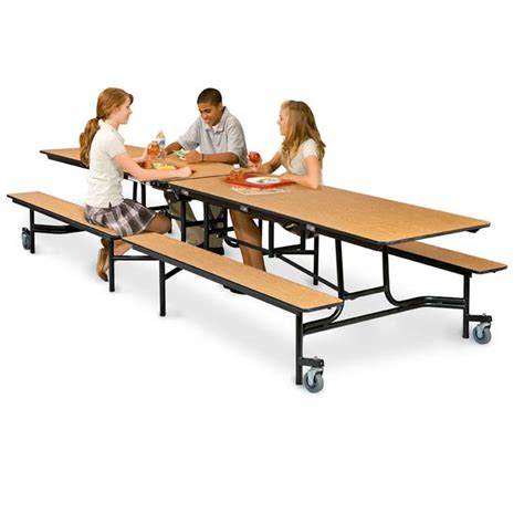 school lunch tables mobile school bench cafeteria tables by midwest