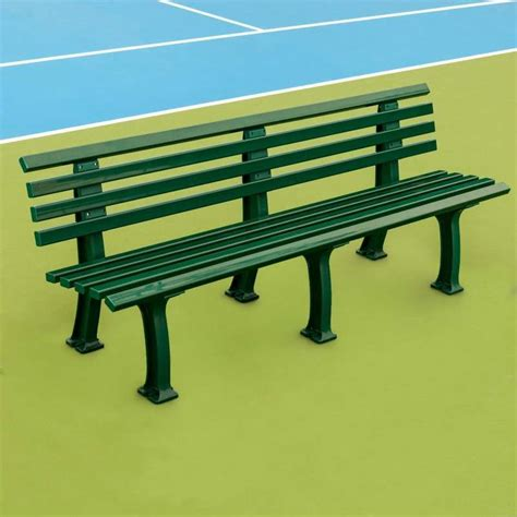 tennis court bench plastic courtside benches tennis court seating tennis