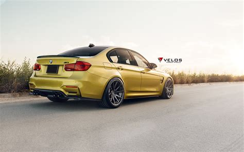 Beautiful Austin Yellow BMW F80 M3 gets tuned up and modded