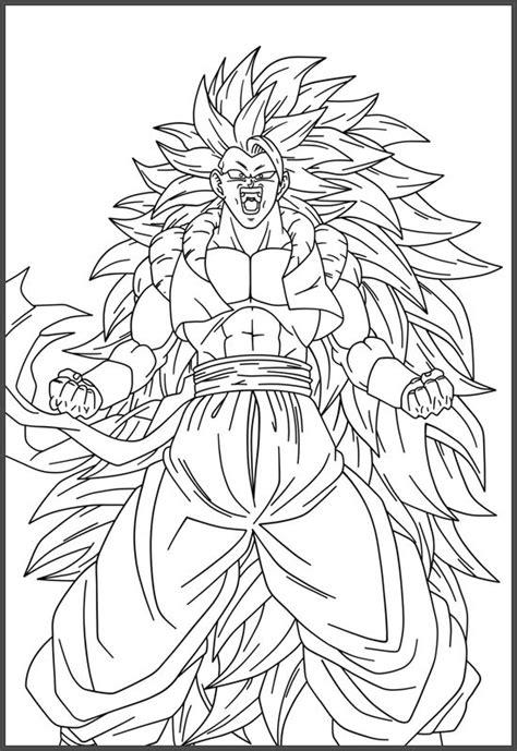imagenes de goku gt para colorear dibujos de goku en color archivos dibujos de dragon ball z
