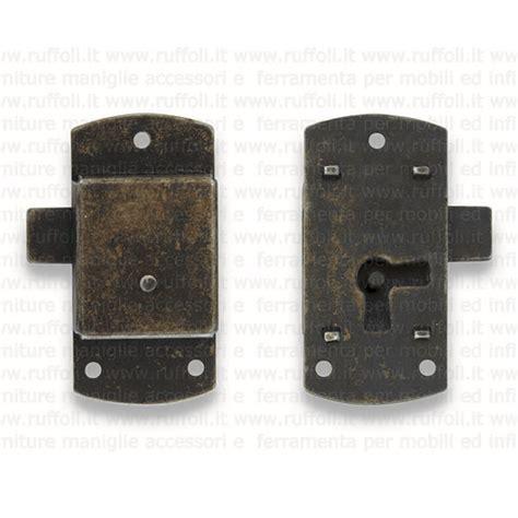 ferramenta mobili antichi serratura per mobili antichi fs119 15 mm ruffoli