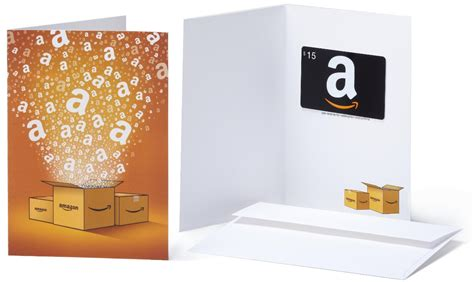 Amazon Gift Card Packaging - 15 00 amazon gift card on purchase of select pers