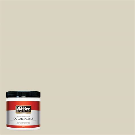 behr premium plus 8 oz ppl 79 pale lichen interior exterior paint sle ppl 79pp the home depot