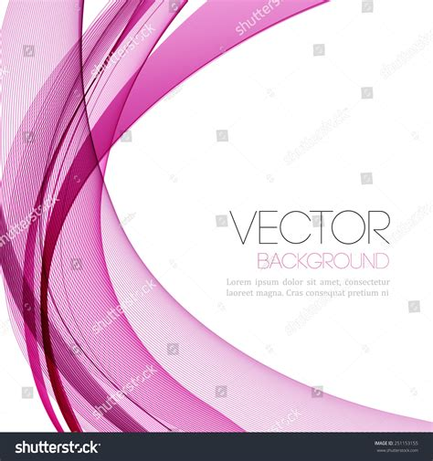 leaflet design background eps vector abstract color lines background template stock