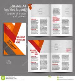 book layout template a4 book layout design template stock vector image 57980616