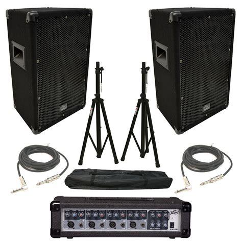 Mixer Audio Pvi 2 harmony ha v10p 10 quot dj pa speaker peavey pvi 4b