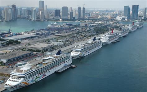 cruise from miami miami florida cruise port schedule cruisemapper