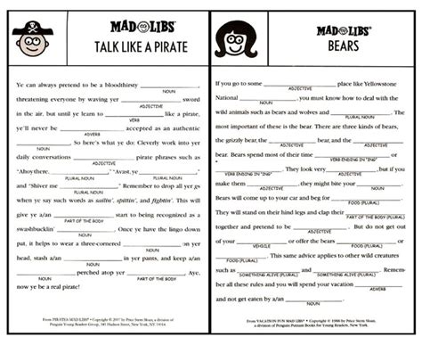 up letter mad libs image result for printable mad libs sheets for adults
