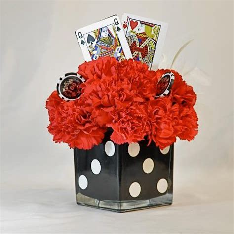 casino centerpieces 1000 images about ideas on 70th birthday centerpieces and glass flowers