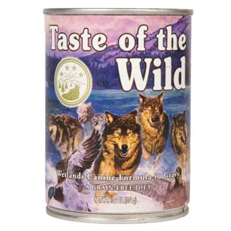 taste of the puppy feeding guide taste of the wetlands canine great deals at zooplus