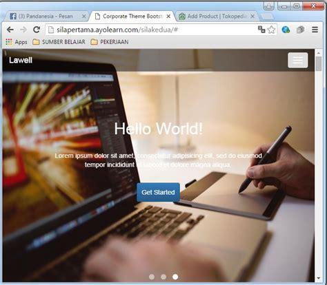membuat website laundry membuat website profile perusahaan responsive dengan