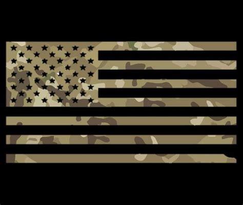 Matte Black Tactical American Flag American Flag Decal Colors Blacksheepwarrior Store